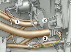 4.5 Замена датчика температуры охлаждающей жидкости