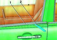 11.8 Замена уплотнителя стекла двери