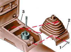 11.23 Снятие и установка центральной консоли