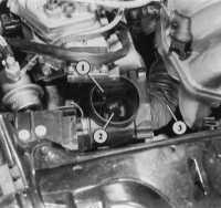6.4 Подогрев впускного воздуха Audi 80