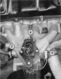 6.5 Отопление впускного коллектора Audi 80
