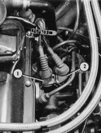 7.9 Тросовый привод «газа» Audi 80