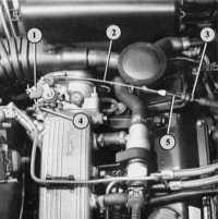 7.18 Проверка режима холостого хода и анализ выхлопных газов Audi 80