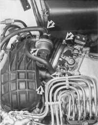 7.29 Снятие составных элементов Audi 80