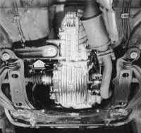 9.1 Снятие и установка механической коробки передач (КП)