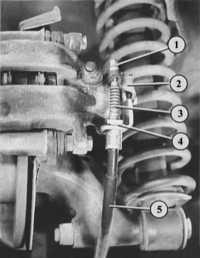 11.14 Измерение толщины колодок задних дисковых тормозов