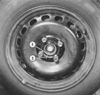 13.5 Замена колеса