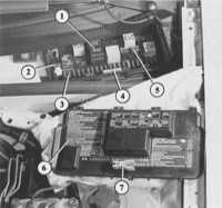 14.7 Реле и блоки управления Audi 80