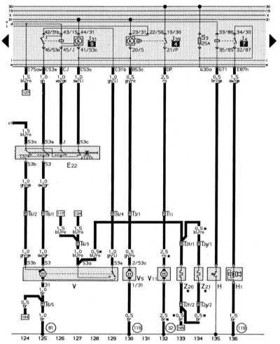 14.13.8 Система стеклоочистителя/омывания, система очистки фар, обогреваемые   форсунки стеклоомывателя, звуковой сигнал