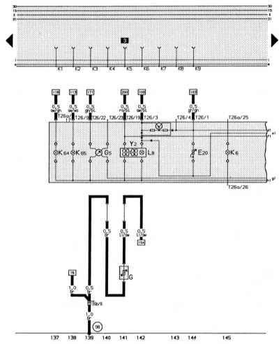 14.13.9 Комбинация приборов, тахометр, цифровые часы, регулятор освещения