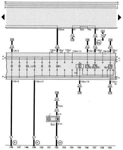 14.13.10 Комбинация приборов, стабилизатор напряжения, контроль охлаждающей   жидкости, индикатор количества топлива, спидометр