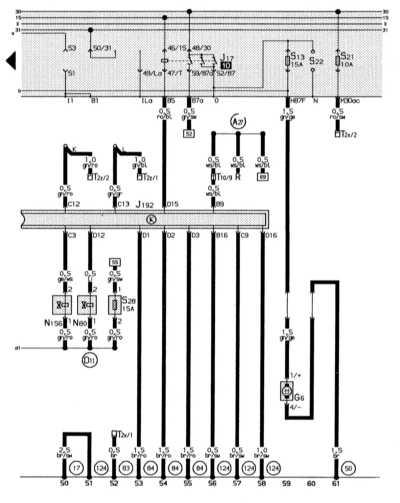 14.18.2 Электронная система впрыска, реле топливного насоса, топливный насос