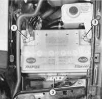 14.21 Контроль уровня электролита Audi 80