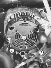 14.28 Самостоятельный ремонт генератора и регулятора Audi 80