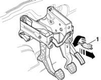 11.10 Снятие, установка и регулировка выключателя стоп-сигнала