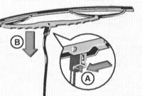 13.65 Замена резинок щеток стеклоочистителей