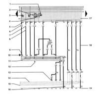 15.2 Обозначения на электрических схемах Audi A3