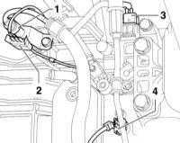 9.2 Снятие и установка автоматической трансмиссии