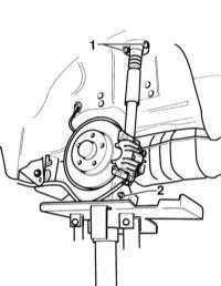 12.4.1 Снятие и установка амортизатора и пружины