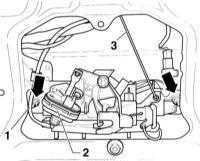 13.42 Снятие и установка запорного механизма