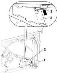 13.56 Установка боковой подушки безопасности в балку регулировочных элементов