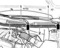 13.67 Снятие и установка сопел омывателя ветрового стекла