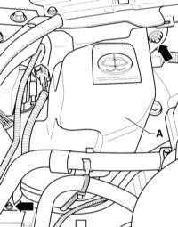 14.34 Снятие и установка резервуара с насосом стеклоомывателя Audi A3