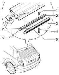 14.15 Замена ламп наружного освещения Audi A3