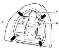 14.20 Снятие и установка заднего фонаря Audi A3