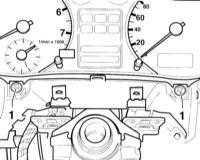 14.23 Снятие и установка приборной доски Audi A3