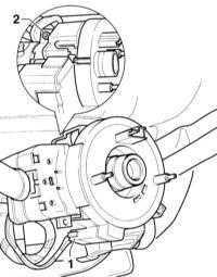 14.24 Снятие и установка подрулевого переключателя Audi A3