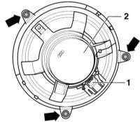 14.28 Снятие и установка громкоговорителя Audi A3