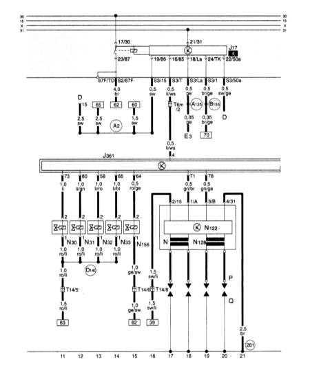 15.28 Прибор управления для Simos, реле топливного насоса, инжекторы, система зажигания, клапан переключения впускного трубопровода