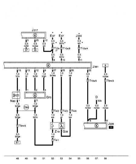 15.31 Прибор управления для Simos, датчик кислорода, измеритель массы воздуха, электромагнитный клапан системы адсорбера