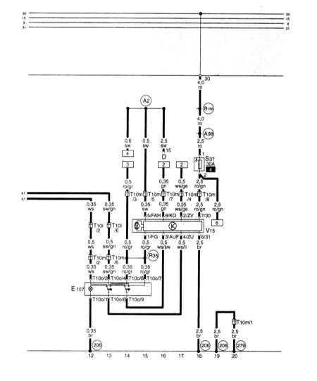 15.35 Электрические стеклоподъемники, 3-дверные модели (с защитой защемления), сторона переднего пассажира