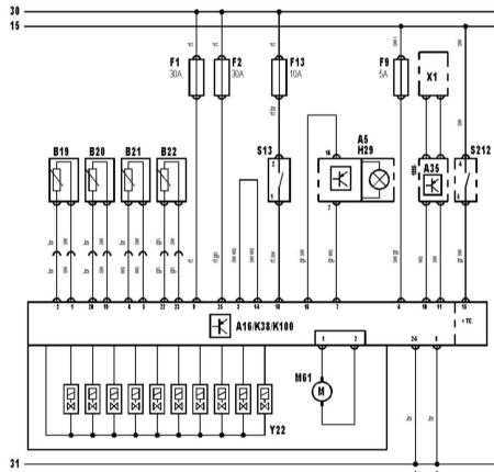 15.36 Система антиблокировки тормозов ABS и разъем блока управления