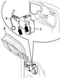13.34 Снятие и установка запорного элемента крышки топливного бака