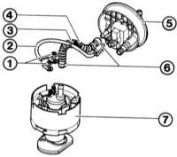 7.5 Демонтаж бензинового насоса с электроприводом