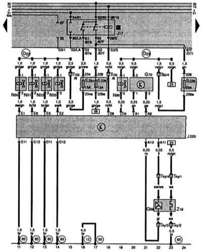 15.33 Четырехцилиндровый двигатель с рабочим объемом 1,6 л и мощностью 74 кВт
