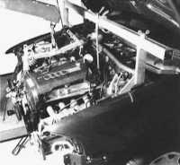 3.16 Монтаж и демонтаж двигателя