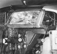 17.3 Замена ламп фар Audi A4