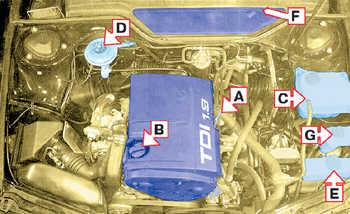 1.45 4-цилиндровый двигатель объемом 1,9 л