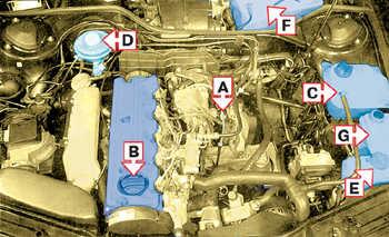1.46 5-цилиндровый дизельный двигатель