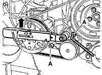 2.1.25 Проверка и замена многополосного приводного ремня