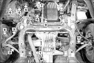 2.2 Модели с дизельными двигателями Audi A6