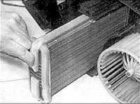 5.1 Элементы системы отопления и вентиляции Audi A6