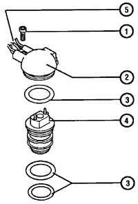 6.1.6 Элементы системы впрыска топлива Audi A6