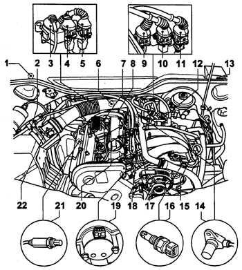 6.2.1 Многоточечная система впрыска топлива Audi A6