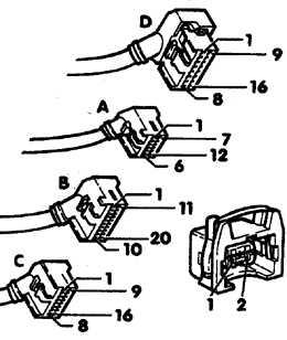 6.3.7 Проверка клапанных форсунок Audi A6