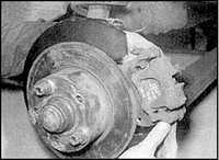 10.9 Тормозной диск заднего колеса